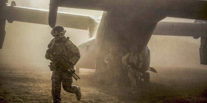 Marine Corps and the MV-22 Osprey makes the impossible possible in crisis response | Community Digital News