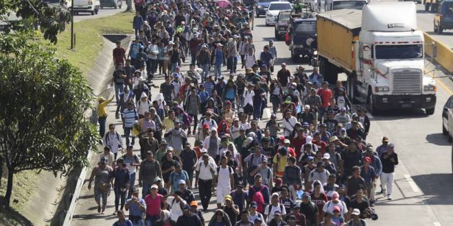 Civilian militias plan to take up arms to stop migrant caravans from crossing the U.S. border: CBP   Global News