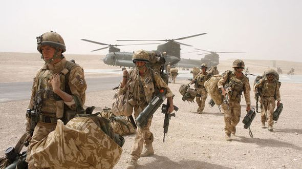 British Parachute Regiment sent back into combat in Afghanistan to beat IS   Express
