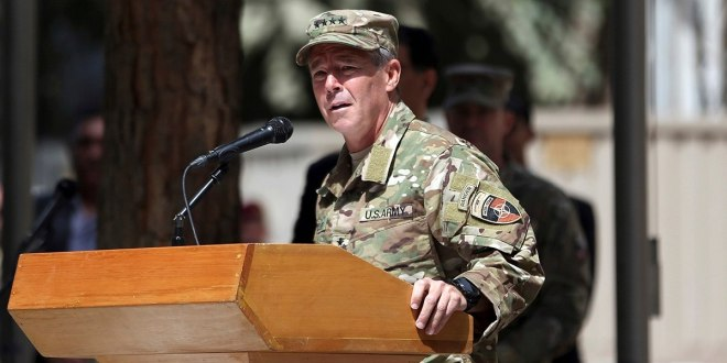 'This is not going to be won militarily': Top US commander in Afghanistan reveals pessimism | Military Times