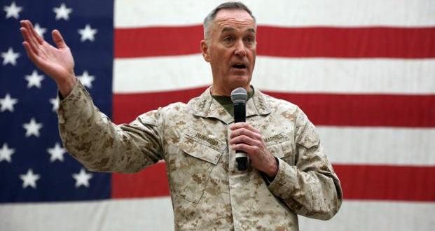 Dunford Addresses Talk of Afghanistan Pullout at Holiday USO Show | Military.com