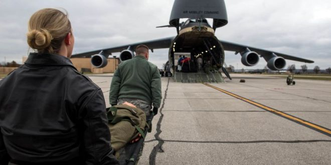 Air Force looks to use fleet's largest cargo plane for medical evacuations | We Are The Mighty