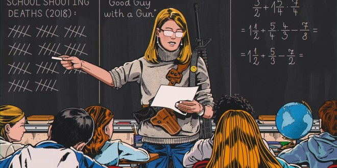 When You Give a Teacher a Gun | GQ