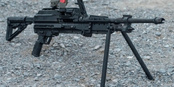 Here's one of the big guns competing to be SOCOM's next lightweight medium machine gun | Army Times