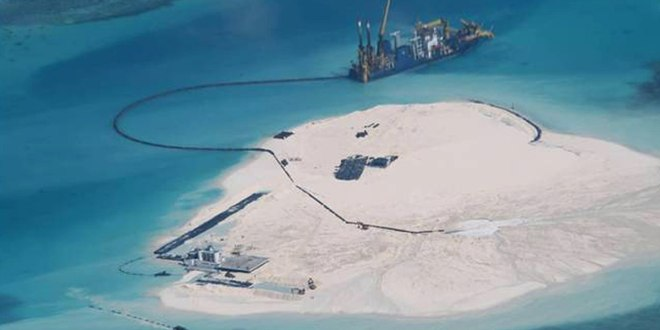 Why a Chinese officer said South China Sea island fortification is driven by 'threats' | Navy Times
