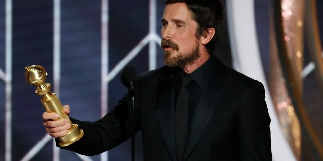 Christian Bale Brings Back Real Accent, Thanks Satan in Globes Acceptance Speech | Vulture