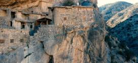 A hidden village carved into a cliff | BBC
