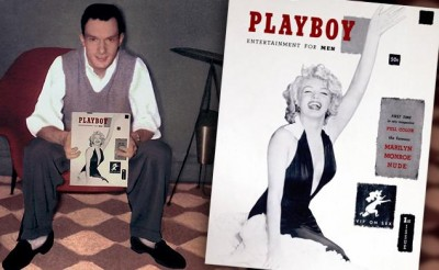 Hugh Hefner and The History Of The Playboy Logo | logomyway