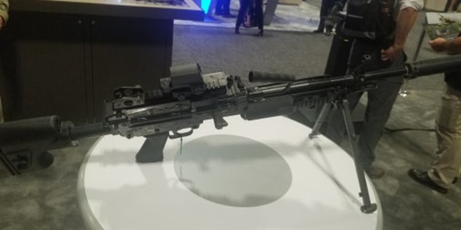 New FN MK48 machine gun could address SOCOM's desire for 6.5 mm round and assault machine gun | Military Times