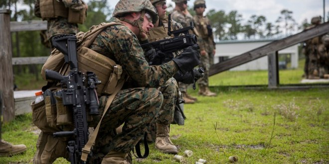 Marine and Army squads could get this new 40 mm laser guided grenade round | Marine Corps Times
