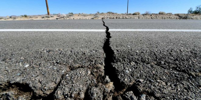 Satellite Images Show Large Crack Formed in the Earth After California's Earthquake | Travel and Leisure