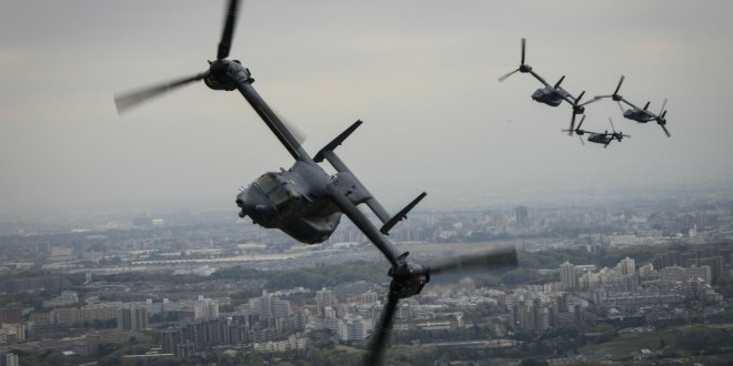 Two special operations Osprey squadrons stand up at Yokota AB | Air Force Times