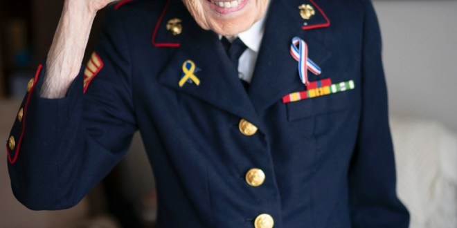 97-year-old Marine veteran recalls life of service, persistence| Stars and Stripes