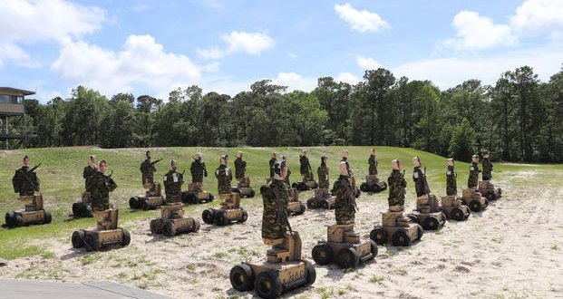 These Marines Are Becoming Crack Shots Thanks to Robot Targets that Move Like Humans | Military.com