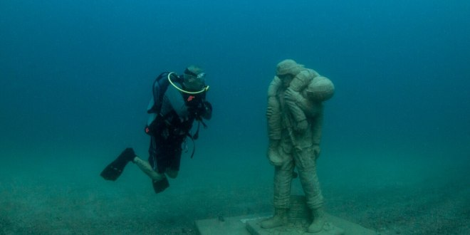 The first underwater veterans memorial is open for divers| Military Times