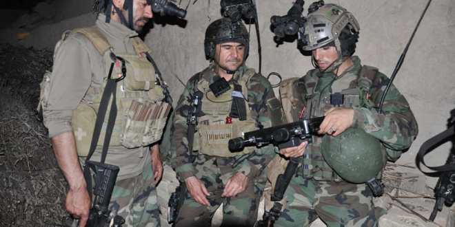 Afghan Special Forces storm the hideout of a key ISIS facilitator of suicide bombings | Khaama Press News Agency