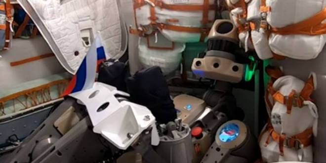 Russia's humanoid AI space robot is now on its way to the international space station | Newsweek