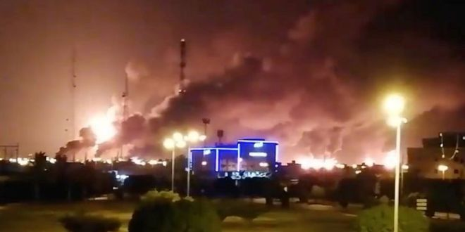 Oil prices soar after attacks on Saudi facilities| BBC