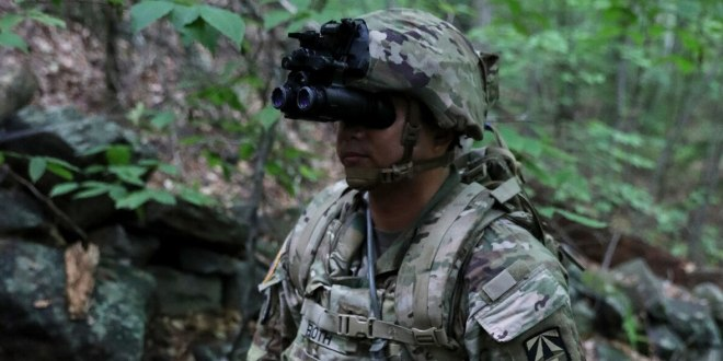 This Army unit will be the first to get the most ever advanced night vision goggles, with thermal | Army Times