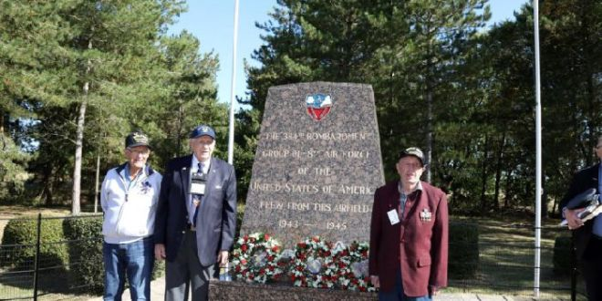 Second World War heroes' poignant return to Grafton Underwood airbase | North Hampshire Telegraph