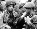 1944 photo of soldier smoking