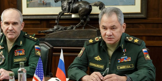 """Defence Minister Shoigu Sells Russia's Military """"Success Story""""