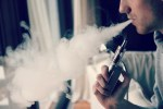Picture for decorative purposes of a man vaping.