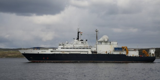 Russia's suspected internet cable spy ship appears off Americas | Forbes