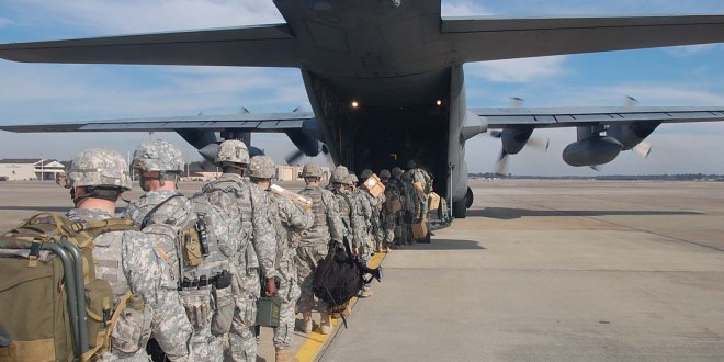 Fort Bragg community in North Carolina on edge as soldiers head to the Middle East | USA Today