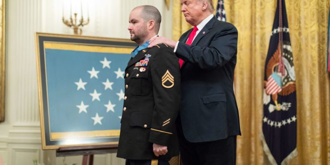 41-year-old Medal of Honor hero now faces his hardest fight on a new battlefield | Military.com