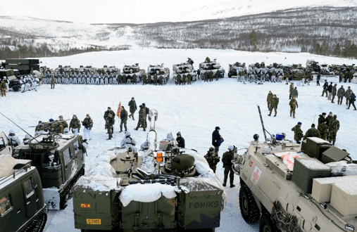 Winter exercise underway in northern Finland with soldiers from seven nations | Barents Observer
