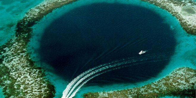 Here's what's at the bottom of the Great Blue Hole in Belize | Business Insider