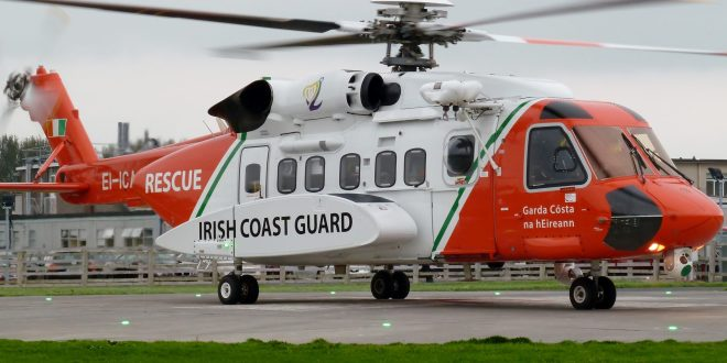 Irish Coast Guard show off skill and bravery of rescue operation in fantastic video shot from helicopter | Dublin Live