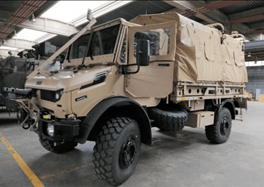 Belgian army evaluates Jankel LTTV light truck for Special Operations and Para-Cdo units | Army Recognition