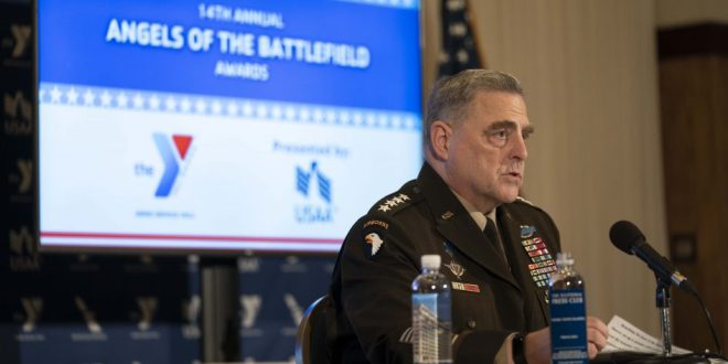 Joint Chiefs Chair Milley marks 14th annual 'Angels of the Battlefield' awards | USNI News