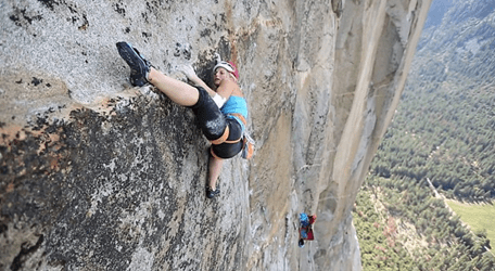 Yosemite climber becomes first woman to free climb harrowing, 3,000-foot route in under 24 hours | San Francisco Chronicle