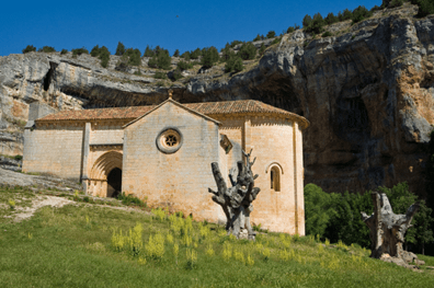 The Templar hermitage at the heart of the Iberian Peninsula | BBC Travel