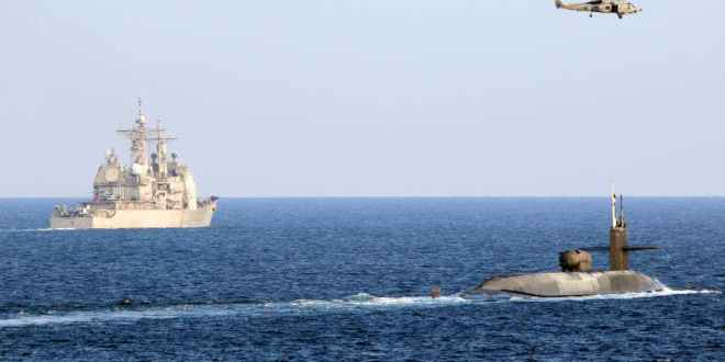 Message to Iran: Navy sends guided-missile submarine on rare trip into the Persian Gulf (Updated) | The Drive