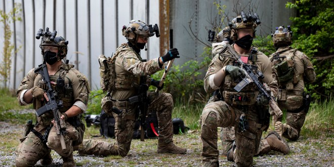 "The Army is training specialized companies of Green Berets to crack ""Hard Targets"" 