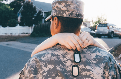 Gold Star husband pushes for end to 'endless wars' and their weight on military families | Connecting Vets Radio
