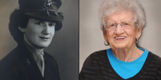 Oldest living Marine Corps veteran passes away at age 107 | Marine Corps Times