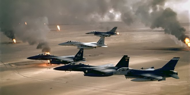30 years on, veterans recall the Desert Storm air war | Connecting Vets Radio