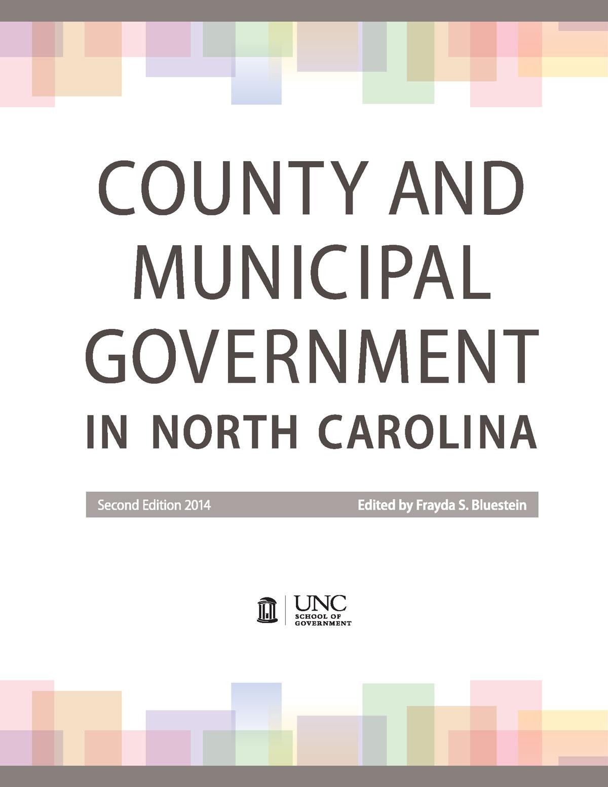 Nc Municipal Government