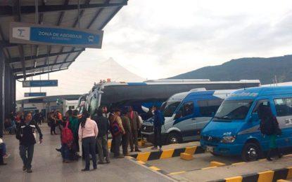 Caos en la nueva Terminal del Norte de Bogotá denuncian viajeros