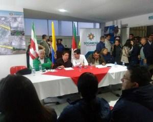 Gobernación y Alcaldía presentan modificaciones del contrato plan para la 'Movilidad de Sogamoso'