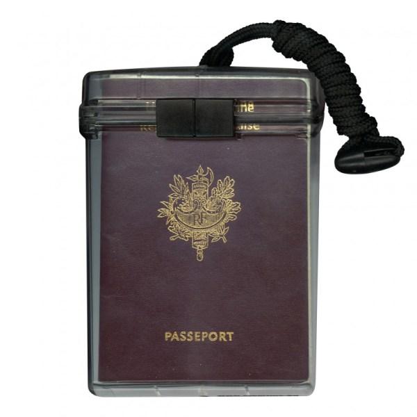 Clearbox Passport Holder - Waterproof Version With Lanyard