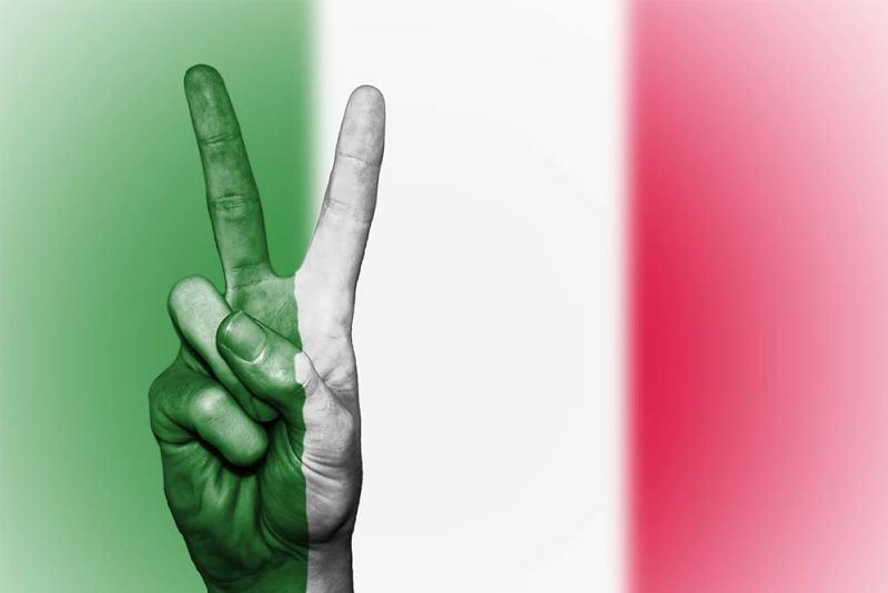 bandiera esportazione prodotti italiani