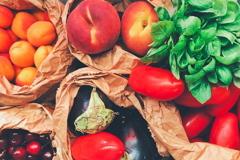 spedire alimenti freschi la verdura