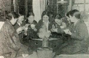 昭和9年頃の女子師範寄宿舎