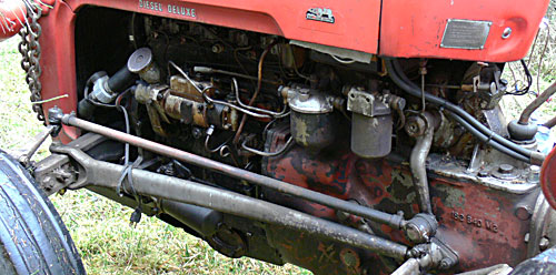lucas alternator wiring diagram white rodgers thermostat 1f82 261 our massey ferguson fe35 tractor - photos and information antique still in use ...